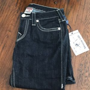NWT - women's True Religion size 28 bootcut jeans